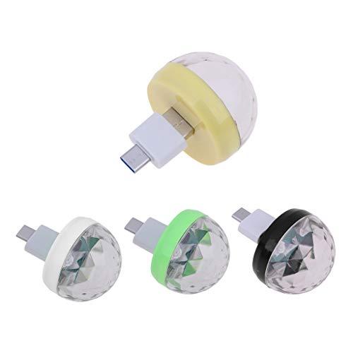 Gazechimp 4 Stücke Mini Disco USB Ball Licht, Party LED Tragbares Licht Für Show /