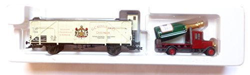Preisvergleich Produktbild MÄRKLIN H0 MUSEUM 2002 Güterwagen + LKW Sektkellerei G.C.KESSLER& CO NEU/OVP unbespielt
