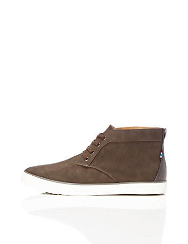 FIND Men's Arnold Chukka Trainers, Brown (Brown), 10 UK 44 EU