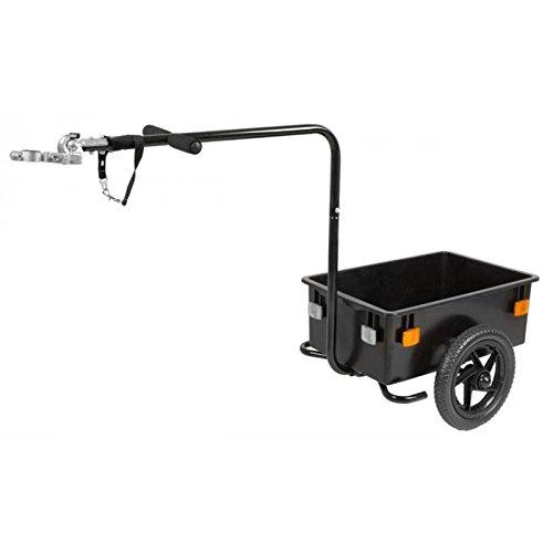 M-Wave Gepäck Lasten Fahrrad Anhänger Mini 40 kg 40 Liter Transport, 640039