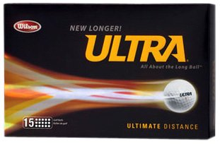Wilson Ultra Ultimate Distance 15Pk White