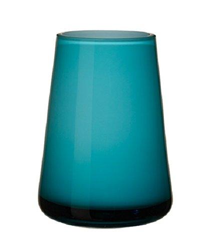 Villeroy & Boch 11-7257-0966 Numa Mini Vase caribbean sea, Glas, blau/türkis, 12 x 9 x 6 cm