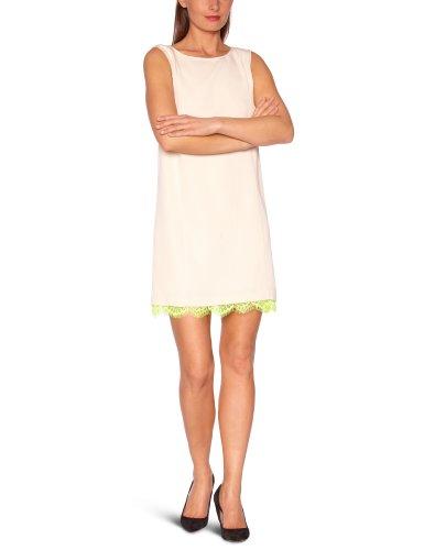 American Retro Damen Kleid MARIANNE DRESS Trapèze Elfenbein (Ivory)