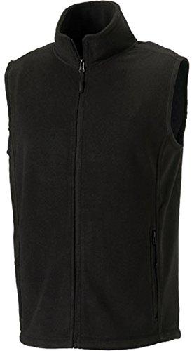 Fleece-Weste, Farbe:Black;Größe:L L,Black