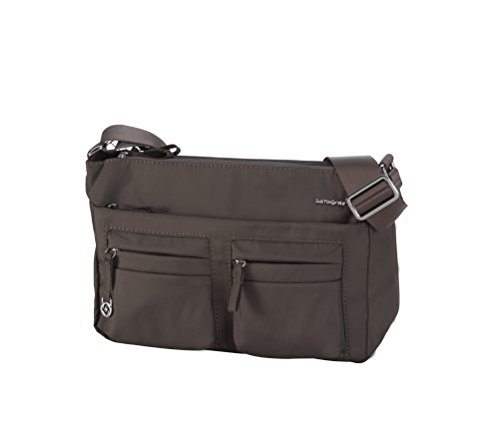 Samsonite Move 2.0 Horizon Shoulder Bag + Flap Bolso Bandolera, 3.94 litros, Color Marrón Oscuro