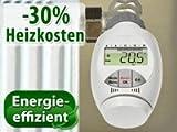AGT Programmierbarer Heizkörper-Thermostat mit Zeitsteuerung