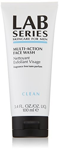 Lab Series for Men Multi-Action Face Wash, 100ml / 3.4 Fluid Ounce by Lab Series -