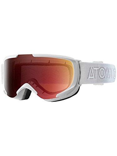 Atomic Savor-Goggle S ML, colore: bianco, light red, Taglia unica
