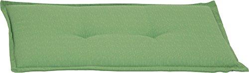 Bankauflage 2-Sitzer Sitzkissen ca. 100x45x6 cm hellgrün meliert