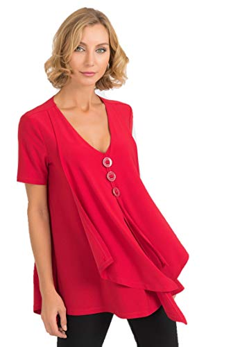Joseph Ribkoff Red Top Style - 193131 Fall 2019 Hot Styles