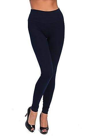 Futuro Fashion Longue Taille Haute Leggings Coton Tous Coloris Toutes
