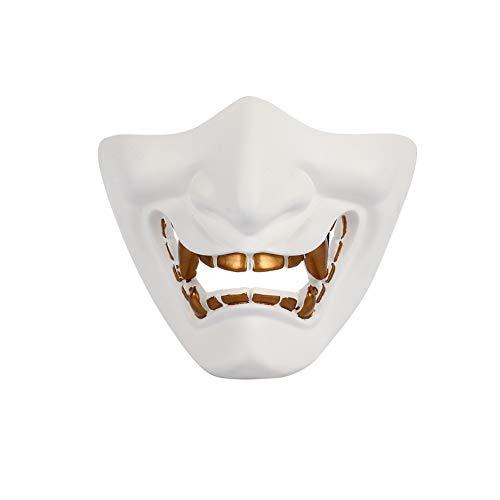 TOPmountain Halloween Tänzerin Half Face Tactical Mask Schutzmaske, -