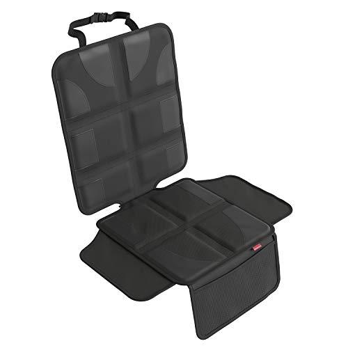 ATHLON TOOLS Kindersitz-Unterlage mit Seitenschutz | ISOFIX geeignet | Wasserabweisend | Dicke Polsterung | Autositzauflage mit Anti-Rutsch Beschichtung