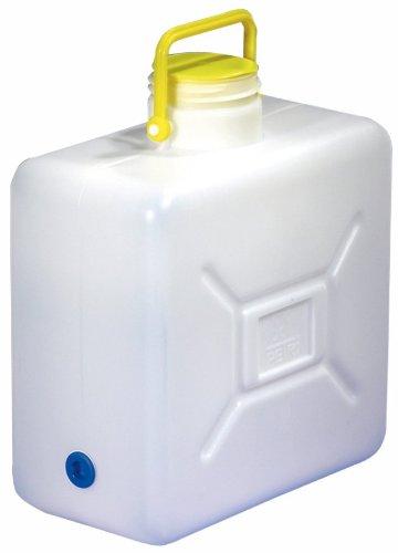 Campingartikel Weithalskanister 16 Liter mit Stülpdeckel und Bügelgriff, 300/001