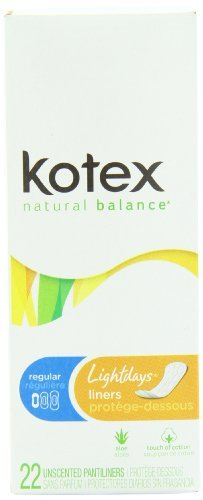 kotex-lightdays-regular-pantiliners-unscented-22-count-by-kimberly-clark