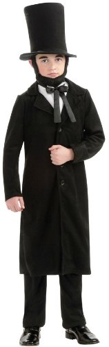 Rubie's Deluxe Abraham Lincoln Costume - Medium (Size 8 to 10, Ages 5 to 7) by Rubie's