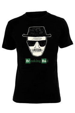 Breaking Bad T-Shirt Men - HEISENBERG PIC Black, Größe:L