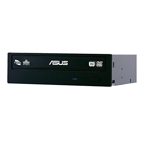 ASUS 'Interner DVD-Brenner 5,25 drw-24F1st Doppelte Schicht 48x 24x 8x SATA schwarz (Optisches Laufwerk Drw)