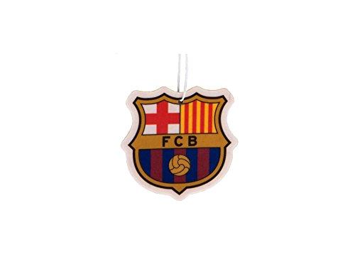 Preisvergleich Produktbild FC Barcelona FC Football Club In Car Hanging Cardboard 2D Air Freshener Official