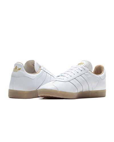 Adidas Originals Gazelle BB5506 Herren Sneaker Grau ftwr white/ftwr white/gold metallic