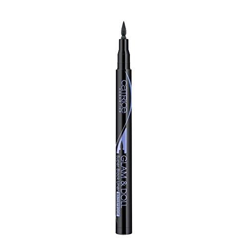 Catrice Augen Eyeliner & Kajal Glam & Doll Super Black Liner Waterproof Nr. 010 Super Black 1 ml