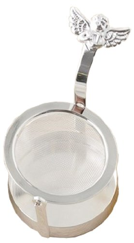 Angel rotary tea strainer silver (japan import) by Takakuwa metal