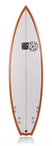 Light Erwachsene Surfboard Quad, White 6\'9