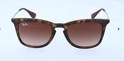 Ray Ban Unisex Sonnenbrille RB4221 Mehrfarbig (Gestell: Havana/Gunmetal, Gläser: Braun Verlauf 865/13) Medium (Herstellergröße: 50)