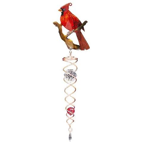 Twister Cristal Décoratif d'Iron Stop Cuivré Cardinal