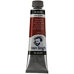 Royal Talens : Van Gogh Oil Paint : 40ml : Transparent Oxide Red S2