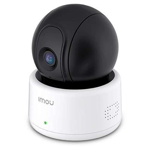 Imou Telecamera di Sicurezza, Videocamera di sorveglianza Wi-Fi IP da 1080P, Telecamera Dome PT Interno con rilevamento del Movimento, Audio bidirezionale e Visione Notturna