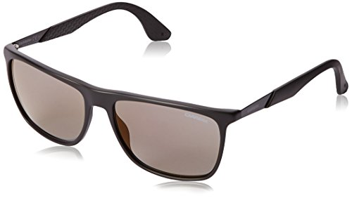 Carrera Herren 5018/S CT MHX Sonnenbrille, Schwarz (Mat Black/Copper Grey Speckled), 56
