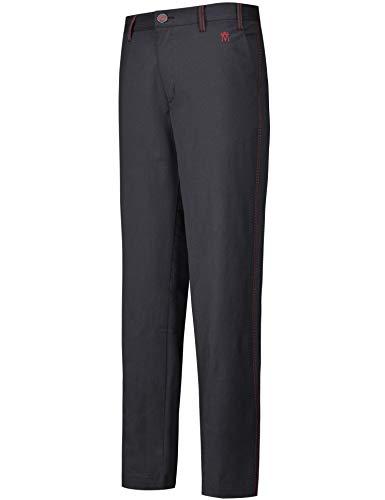 Lesmart Pantalones Golf Frente Plano Elástico Casual