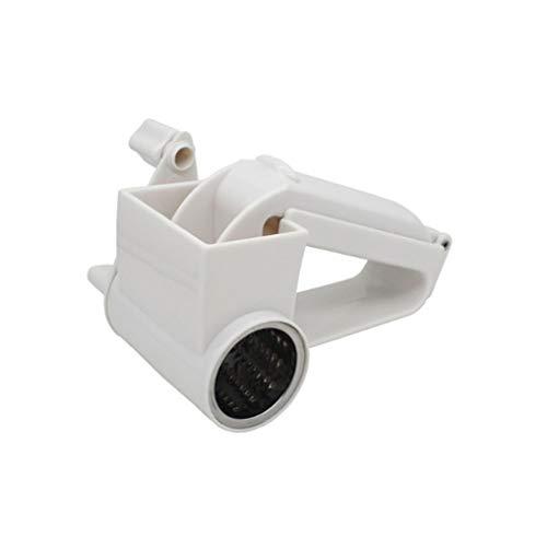 Muxizi gadget per la casa con grattugia rotante a forma di manico bianco a forma irregolare ad alte prestazioni