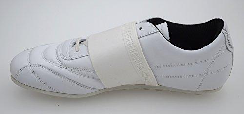 Bikkembergs Scarpa Sneaker Uomo Pelle Bianco Art Bke105318