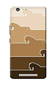 Gionee Marathon M5 Case Kanvas Cases Premium Quality Designer 3D Printed Lightweight Slim Matte Finish Hard Back Cover for Gionee Marathon M5