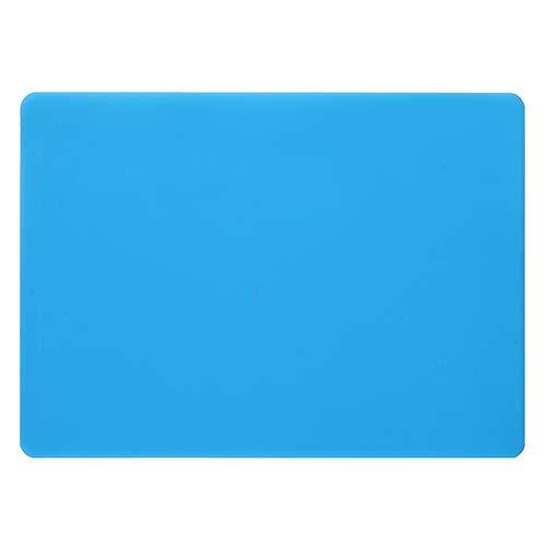 SUPVOX 1 UNIDS Estera de silicona Estera para hornear Estera de arcilla de molde de resina para hacer un trabajo a mano DIY Fundición de joyas (azul)
