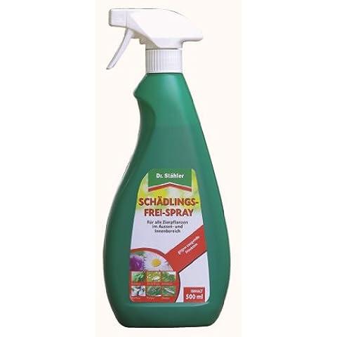 Dr. Stähler 001793piante ornamentali insetticida Spray, 500ml–per interni ed esterni