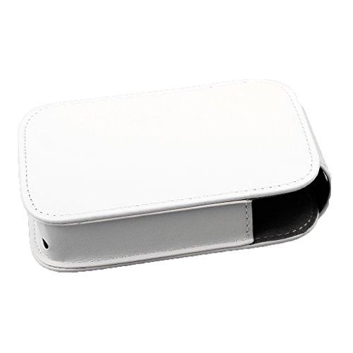 Gazechimp Funda para impresora HP Sprocket para Impresora Fotográfica de Cuero de PU Accesorios Blanco