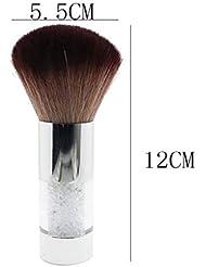 86cf15e64e6c5 Sensail 1 Pcs Brosse à Ongles Pinceau Nettoyage Enlève Anti Poussière  Manucure Nail Art Beauté ...