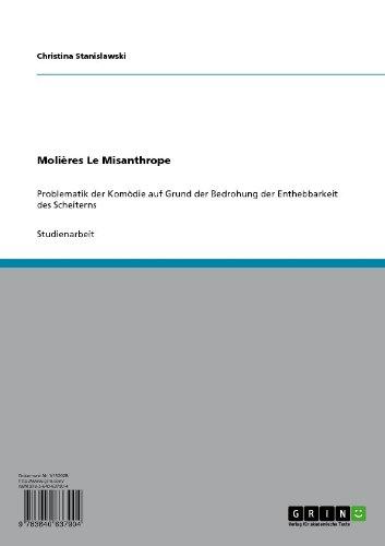 Molières Le Misanthrope (German Edition)