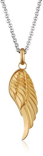 Tamaris chaîne pour femme avec pendentif en forme d'ange en acier inoxydable 80 cm-a05121000