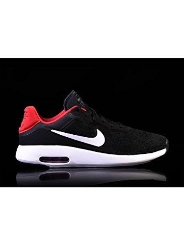 Nike 844874, Sneakers Basses Homme Multicolore (Black / White / Gym Red / White)