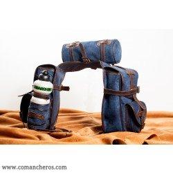 comancheros-bisacce d'équitation, besace cheval pour sellawestern et trekking