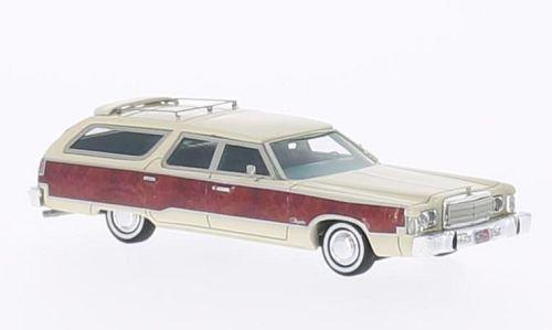chrysler-town-country-hell-beige-holzdekor-1976-modellauto-fertigmodell-neo-187