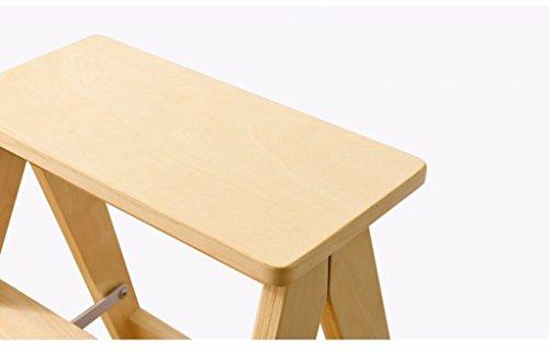 Katxay sgabello pieghevole in legno massello sgabello scala casa