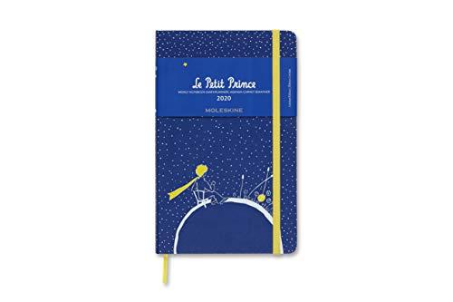 Moleskine Wochen Notizkalender, Taschenkalender, 12 Monate, 2020, Der Kleine Prinz, Large, A5, Hard Cover, Planet