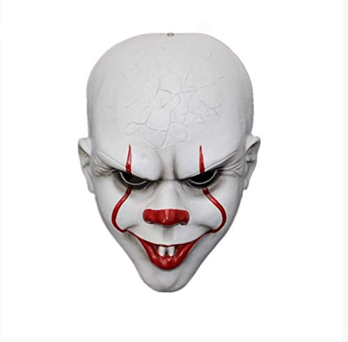 Beängstigend Joker - Clown Maske Stephen King Es Maske