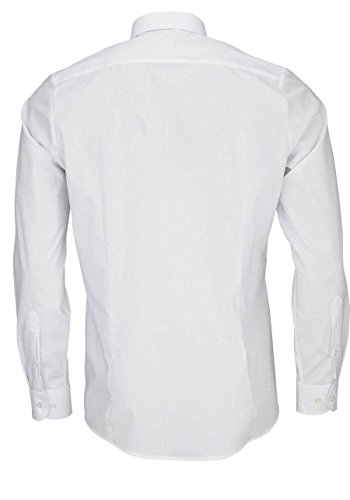 "Olymp Herren Hemd ""Level 5 Body Fit"" Langarm Weiß"