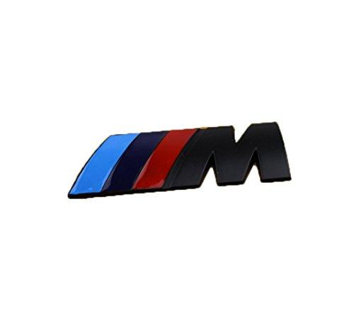 Fireman's High Quality Stylish 3D Metal Grill Car Sticker Rear Trunk Emblem for E46 E30 E34 E36 E39 E53 E60 E90 F10 F30 M3 M5 M6 (Sliver)